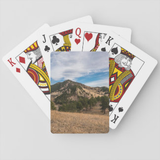 Beyond The Boulder Red Rocks Playing Cards