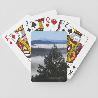 Beyond the forest... playing cards