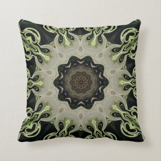 Beyond The Garden. Throw Pillow
