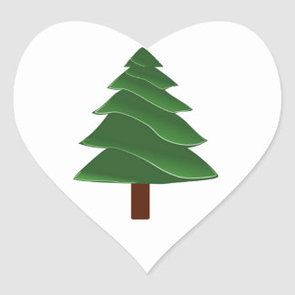 Beyond the Pine Heart Sticker