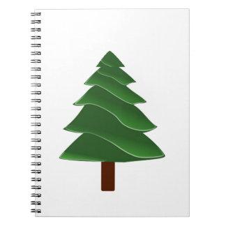 Beyond the Pine Spiral Notebook