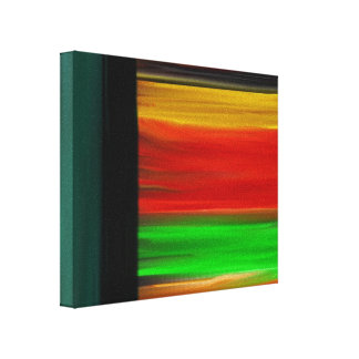 Beyond the Realm Abstract Canvas Print