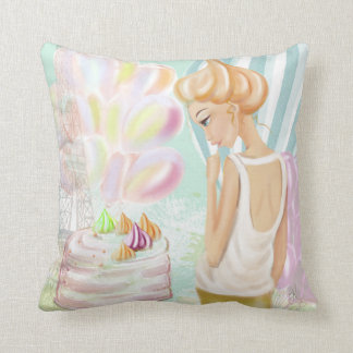 Beze Throw Pillow