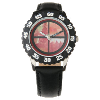 Bezel Stainless Steel Black Numbered Watch