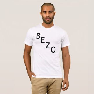 Bezo white w/ Black Letters T-Shirt