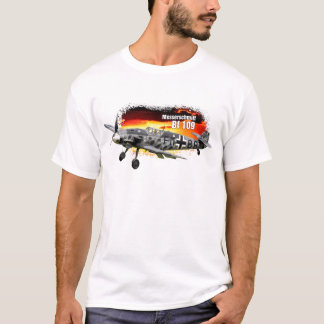 BF 109 Messerschmitt WW2 Fighter T-Shirt