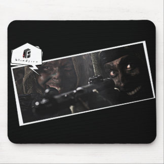 "bf ""Those deadly guerrillas"" Mousepad"