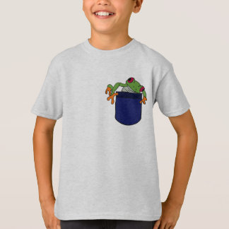 BF- Tree Frog ina Pocket Shirt