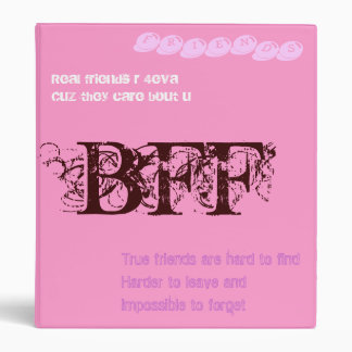 BFF 3 RING BINDERS