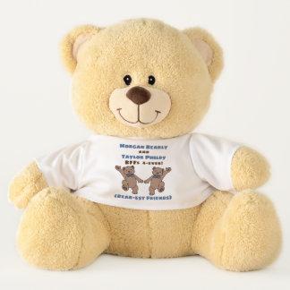 BFF (Bear-est Friends Forever)  Personalized Teddy Bear