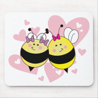 BFF Bee's Mouse Pad