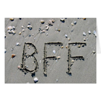 BFF! BEST FRIEND FOREVER! CARD