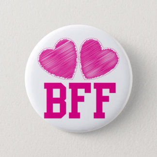 BFF Best friends forever !!! awesome! 2 Inch Round Button