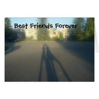 BFF, Best Friends Forever Card