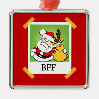 BFF Best Friends Forever Christmas Ornament