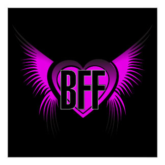 BFF Best Friends Forever Poster