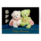 BFF - BIRTHDAY - FRIENDS FOREVER CARD