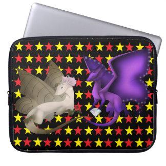 BFF Butterfly Laptop Sleeve Stars