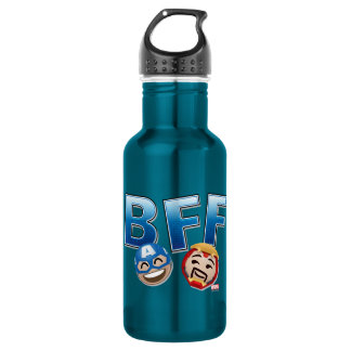 BFF Captain America & Iron Man Emoji 532 Ml Water Bottle