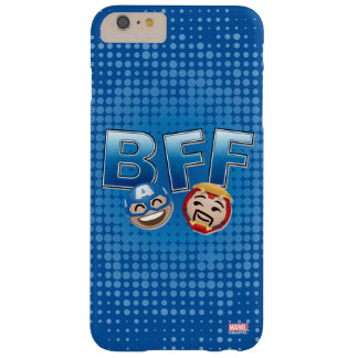 BFF Captain America & Iron Man Emoji Barely There iPhone 6 Plus Case