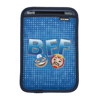 BFF Captain America & Iron Man Emoji iPad Mini Sleeve