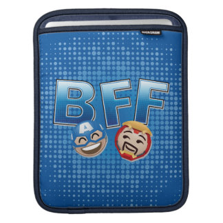 BFF Captain America & Iron Man Emoji iPad Sleeve