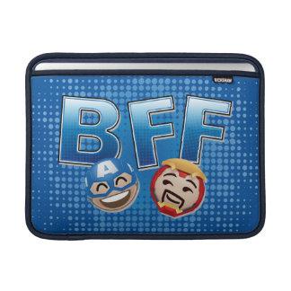 BFF Captain America & Iron Man Emoji MacBook Sleeve