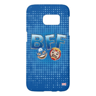BFF Captain America & Iron Man Emoji Samsung Galaxy S7 Case