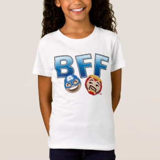 BFF Captain America & Iron Man Emoji T-Shirt