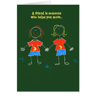 BFF defined humor LOL Girls Friendship Secrets Card
