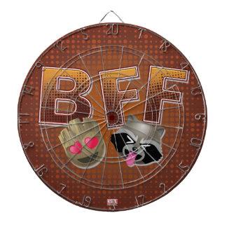 BFF Groot & Rocket Emoji Dartboard