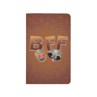 BFF Groot & Rocket Emoji Journal