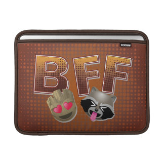 BFF Groot & Rocket Emoji MacBook Sleeve