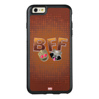 BFF Groot & Rocket Emoji OtterBox iPhone 6/6s Plus Case