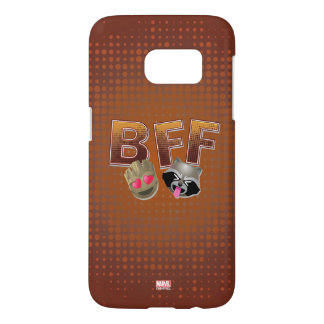 BFF Groot & Rocket Emoji Samsung Galaxy S7 Case