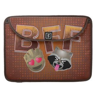 BFF Groot & Rocket Emoji Sleeve For MacBooks