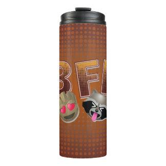 BFF Groot & Rocket Emoji Thermal Tumbler