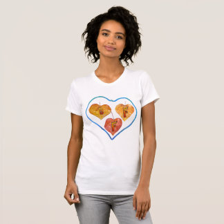 BFF Heart Leaves Women's T-Shirt