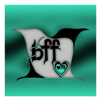 bff ~ lovebirds print