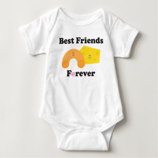 Bff Mac & Cheese Baby Bodysuit