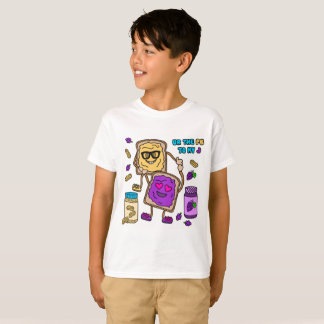 BFF Peanut Butter & Jelly Emoji T-Shirt