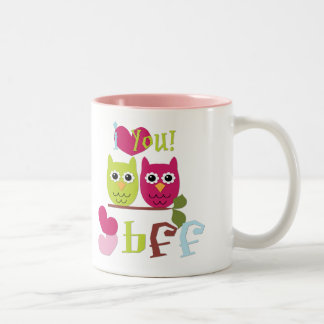 BFF Two-Tone COFFEE MUG
