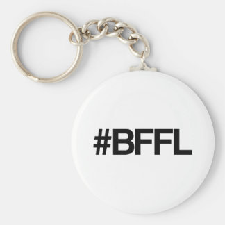 BFFL Best Friends For Life Hashtag Basic Round Button Keychain
