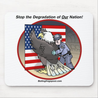 "BFP ""Stop the Degradation"" mousepad light"