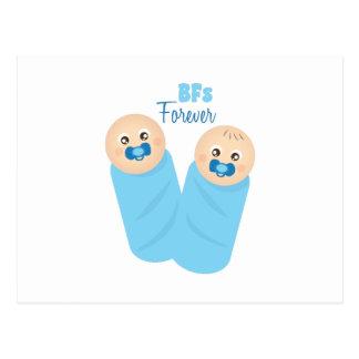 BFs Forever Postcard