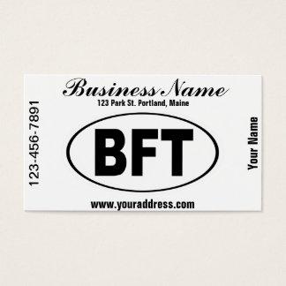 BFT Beaufort South Carolina Business Card