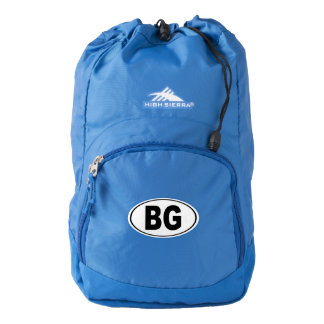 BG Bowling Green Kentucky Backpack