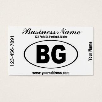 BG Bowling Green Kentucky Business Card
