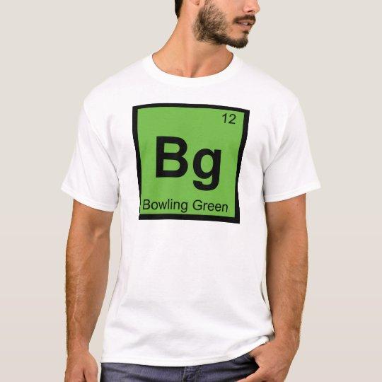 Bg - Bowling Green Kentucky Chemistry Symbol T-Shirt