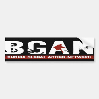 BGANBUMERSTICKER BUMPER STICKER